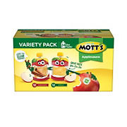 Mott's Apple and Cinnamon Applesauce Variety Pack, 24 pk.