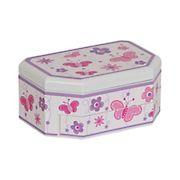 Mele and Co. Kelsey Girl's Glitter-Fly Musical Ballerina Jewelry Box