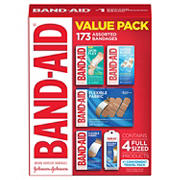 Band-Aid Value Pack, 173 ct.