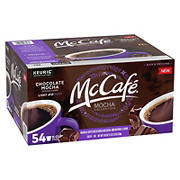 McCafe Chocolate Mocha Light Roast K-Cup Pods, 54 ct.