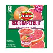 Del Monte Fruit Naturals Red Grapefruit, 8 pk./7 oz.