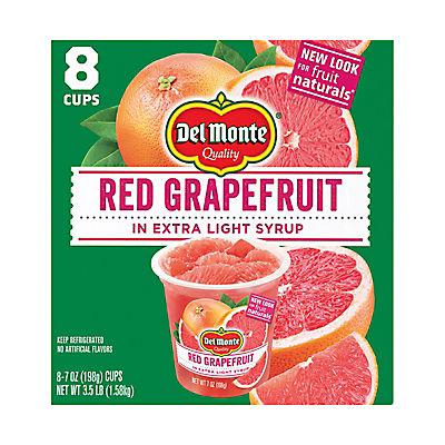 Del Monte Fruit Naturals Red Grapefruit, 8 pk./7 oz.