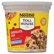 Nestle Tollhouse Chocolate Chip Cookie Dough Tub, 80 oz.