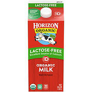 Horizon Organic Lactose-Free Whole Milk, .5 gal.