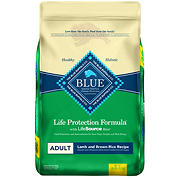 Blue Buffalo Lamb and Brown Rice Life Protection Formula Adult Dry Dog Food, 36 lbs.