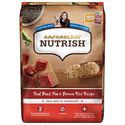 Rachel Ray Nutrish Beef and Brown Rice Dry Dog Food, 50 lbs.