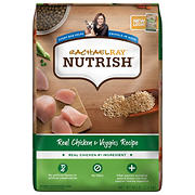 Rachael Ray Nutrish Chicken and Veggie Dry Dog Food, 50 lbs.