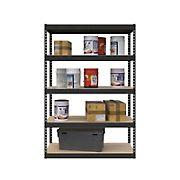 SafeRacks 1.5'D x 4'W x 6'H Modular Shelving - Hammertone
