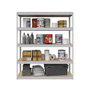 "SafeRacks 18""x 60"" x 72"" Modular Shelving - White"