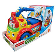 Foot to Floor Ride On - Fisher Price Time to Learn