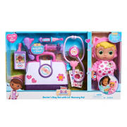 Disney Junior Doc McStuffins Lil' Nursery Pal and Toy Hospital Doctor's Bag Set - Blue