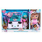Disney Junior Doc McStuffins Lil' Nursery Pal and Toy Hospital Doctor's Bag Set - Puppy