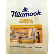 Tillamook Medium Cheddar Snacking Cheese, 32 ct.