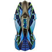 """48"""" RYDR Molded Sled - Green, Black and Blue"""