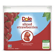 Dole Frozen Sliced Strawberries, 6 lbs.