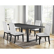 Steve Silver Butler 7-Pc. Dining Set - Charcoal Gray