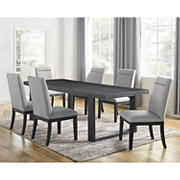 Steve Silver Butler 5-Pc. Dining Set - Charcoal Gray