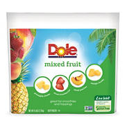 Dole Frozen Mixed Fruit, 6 lbs.