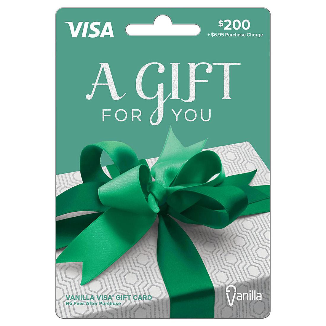 $10 Vanilla Visa Gift Card