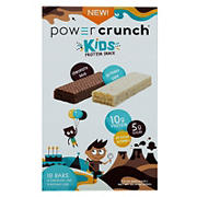 Power Crunch Kids Chocolate Lava and Birthday Cake Energy Bars, 18 ct.