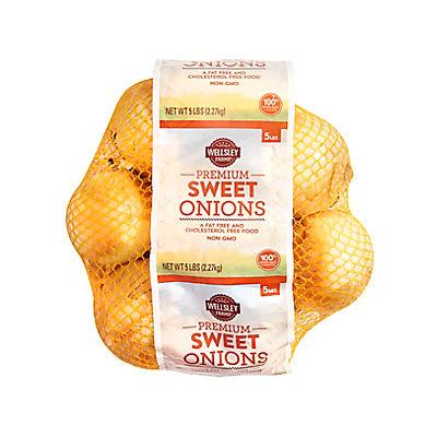 Sweet Onions, 5 lbs.