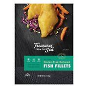Treasure of the Sea Gluten Free Fish Fillets, 40 oz.