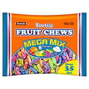 Tootsie Fruit Chews Mega Mix, 3.5 lbs.
