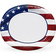 "Artstyle Patriotic 'We The People' 10x12"" Paper Plates, 35 ct."