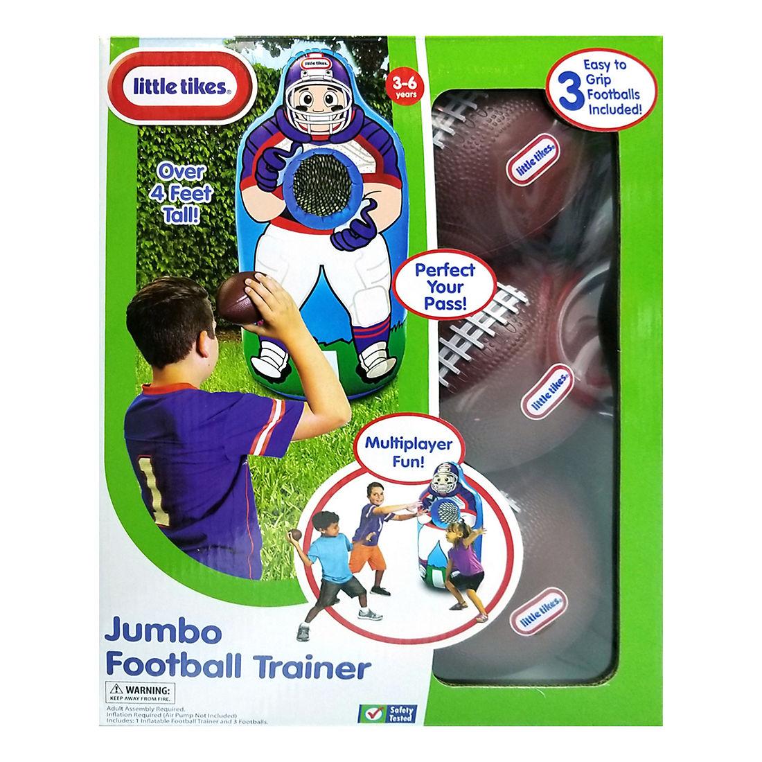 Little Tikes Jumbo Trainer Football Bjs Wholesale Club