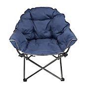 Sierra Deluxe Padded Club Chair - Black