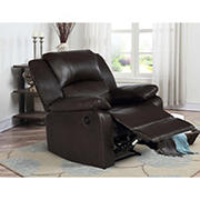 Relax a Lounger Maximus Upholstered Power Recliner  - Java