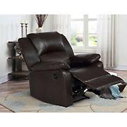 Relax a Lounger Maximus Upholstered Power Recliner  - Java