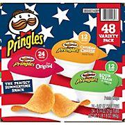 Pringles Snack Stack Potato Crisps Variety Pack, 48 ct.