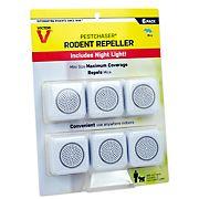 Victor Pestchaser Electronic Rodent Repeller, 6 pk.