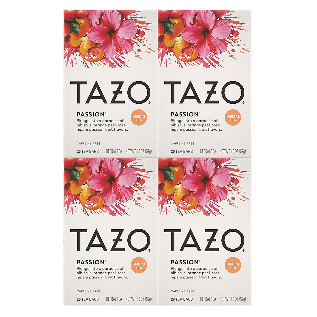 Tazo Passion Tea Bags, 4 pk. - BJs