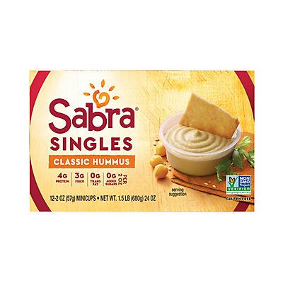 Sabra Hummus Singles, 12 pk./2 oz.