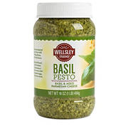 Wellsley Farms Basil Pesto Sauce, 16 oz.