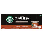 Starbucks Pike Place Fresh Brew Ground Coffee, 20 ct.