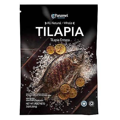 Panamei All Natural Whole Tilapia, 3 lbs.
