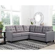 Abbyson Living Gladwell Sectional - Gray