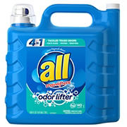 all Odor Lifter Liquid Laundry Detergent, 250 fl. oz.