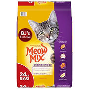 Meow Mix Original Choice Dry Cat Food, 24 lbs.