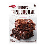 Betty Crocker Hershey's Triple Chocolate Brownie Mix, 4 ct.