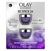Olay Regenerist Retinol 24 Facial Moisturizer, 2 pk.