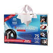 Grab A Rag Reusable Microfiber Rags, 75 pk.