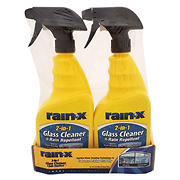 Rain-X 2-in-1 Glass Cleaner with Rain Repellent, 2 pk./24-oz.