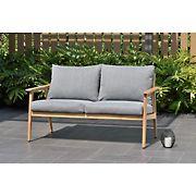 Amazonia Eva 2-Seat Teak Patio Sofa