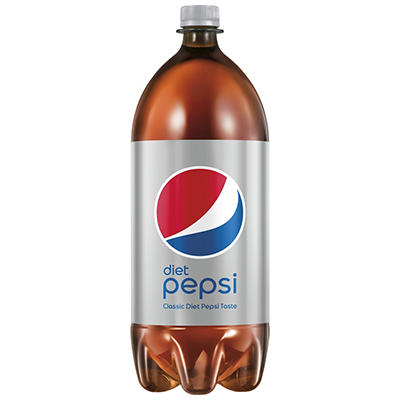 Diet Pepsi Soda, 6 pk./2L bottles