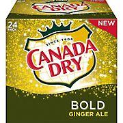 Canada Dry Bold Ginger Ale, 24 pk./12 fl. oz.