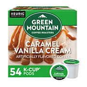 Green Mountain Coffee Caramel Vanilla Cream K-Cup Pods, 54 ct.